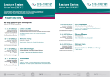 Flyer Lecture Series